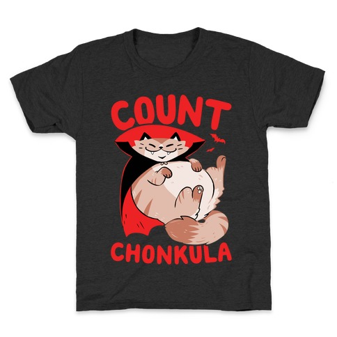 Count Chonkula Kids T-Shirt