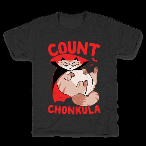 Count Chonkula Kids T-Shirt