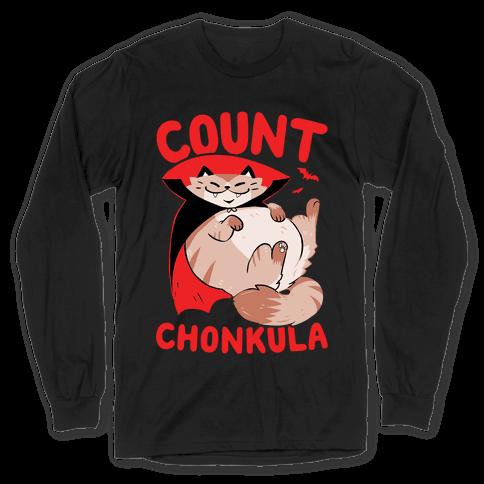 Count Chonkula Long Sleeve T-Shirt