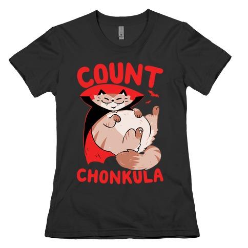 Count Chonkula Womens T-Shirt