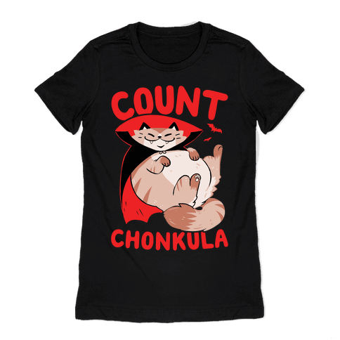 Count Chonkula Womens T-Shirt