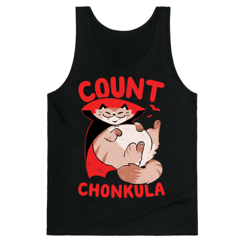 Count Chonkula Tank Top