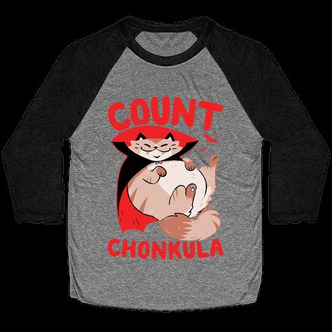 Count Chonkula Baseball Tee