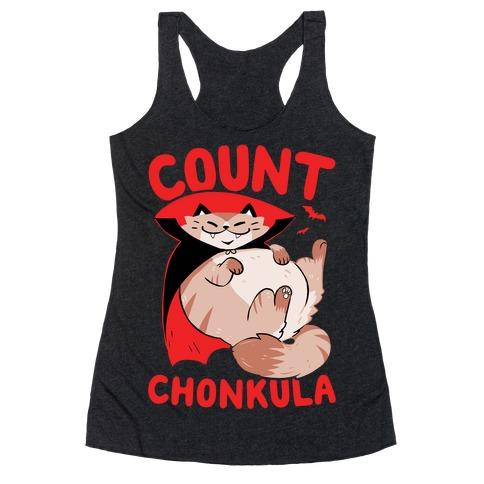Count Chonkula Racerback Tank Top