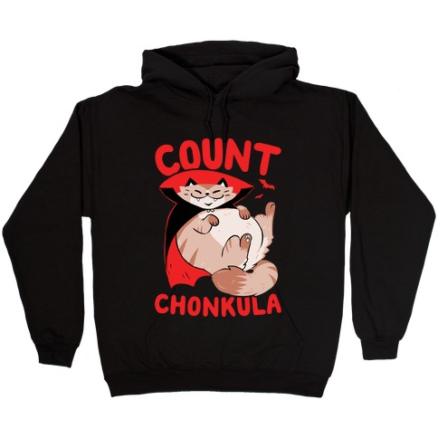 Count Chonkula Hooded Sweatshirt