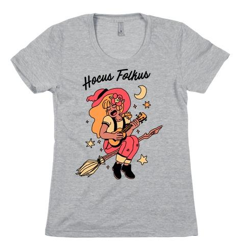Hocus Folkus Womens T-Shirt