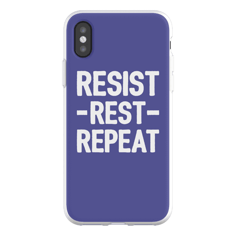 Resist Rest Repeat Phone Flexi-Case