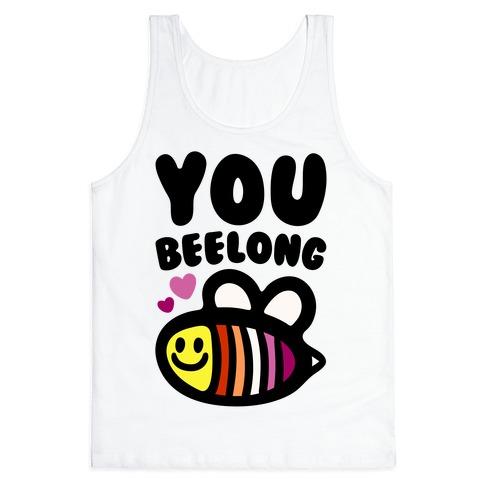 You Belong Lesbian Pride Tank Top