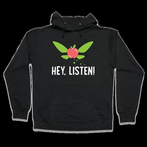 Hey, Listen! Teacher Navi Hooded Sweatshirt