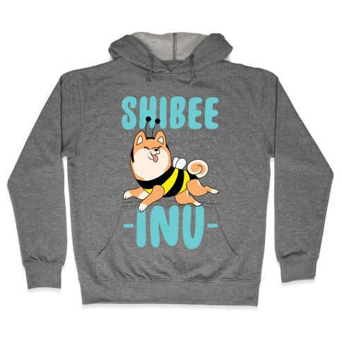 Shibee Inu Hooded Sweatshirt