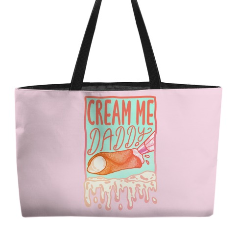 Cream Me Daddy Cannoli Weekender Tote