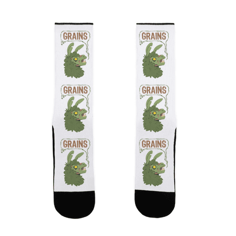 Zombie Llama Sock