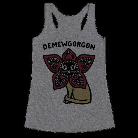 Demewgorgon Parody Racerback Tank Top