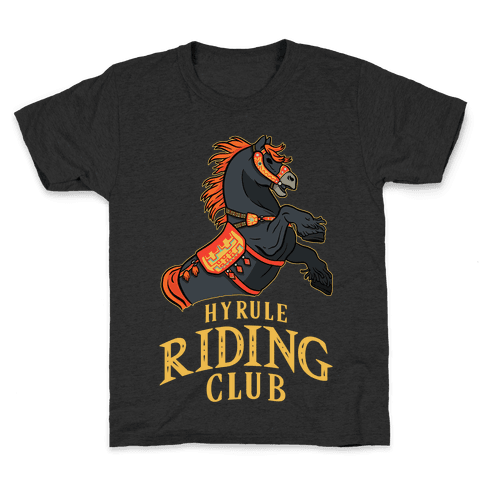 Hyrule Riding Club Kids T-Shirt