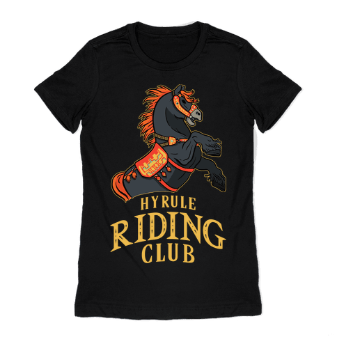 Hyrule Riding Club Womens T-Shirt