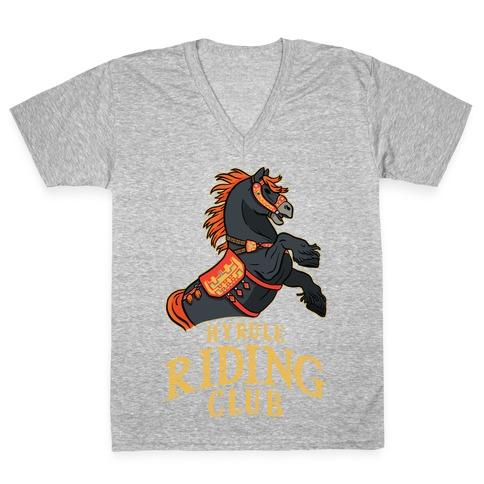 Hyrule Riding Club V-Neck Tee Shirt