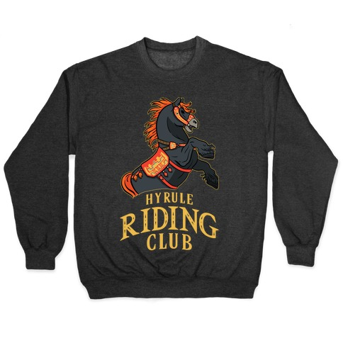 Hyrule Riding Club Pullover