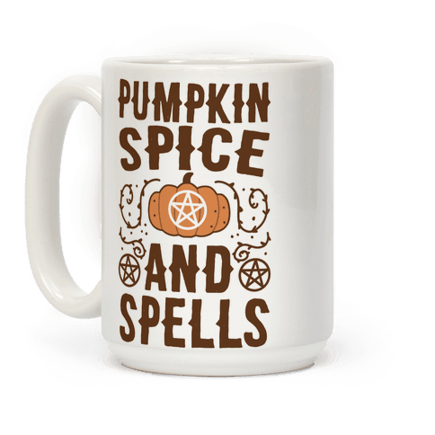 Pumpkin Spice and Spells Coffee Mug