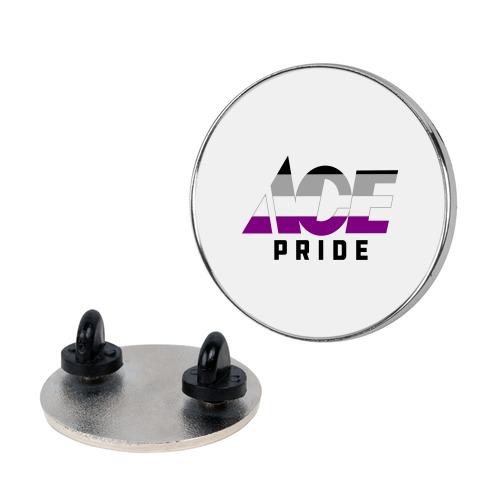 Ace Pride Parody Logo Pin