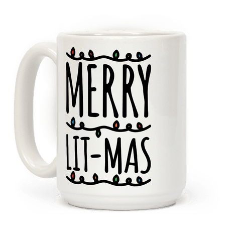 Merry Lit-mas  Coffee Mug