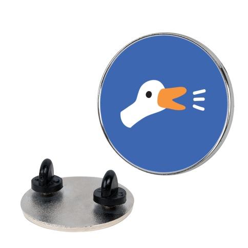 Goose Head Honk Pin