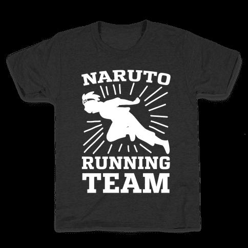 Naruto Running Team Kids T-Shirt