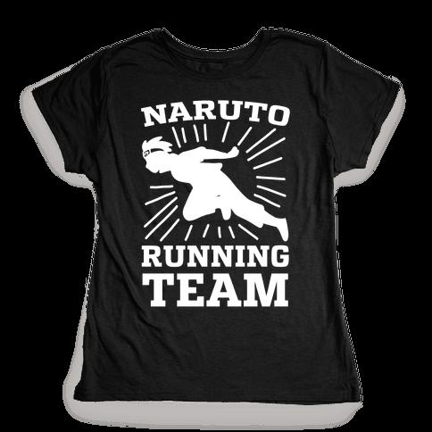 Naruto Running Team Womens T-Shirt