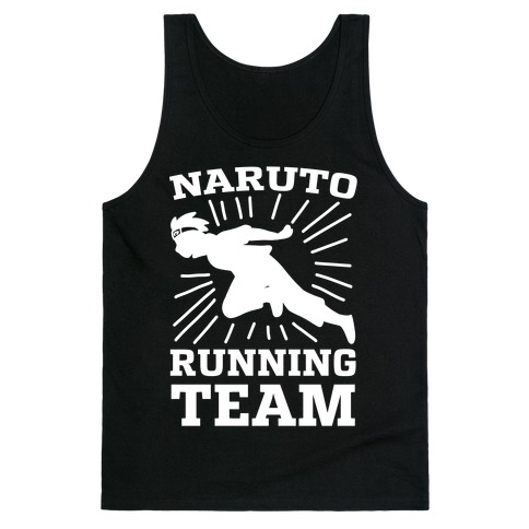 Naruto Running Team Tank Top