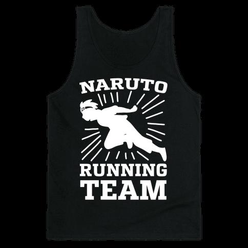 Naruto Running Team Tank Top