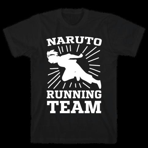 Naruto Running Team Mens/Unisex T-Shirt