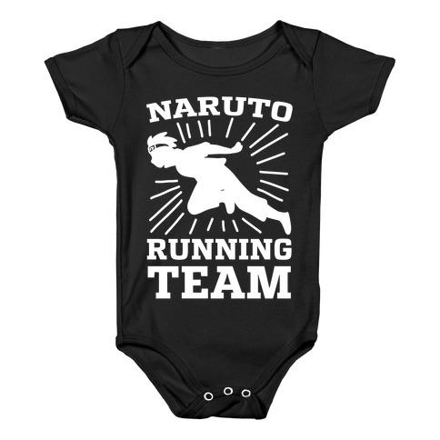 Naruto Running Team Baby Onesy