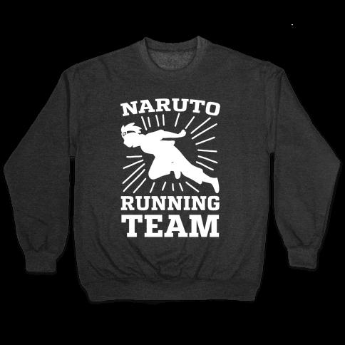 Naruto Running Team Pullover