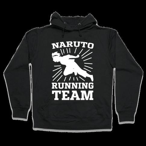Naruto Running Team Hooded Sweatshirt