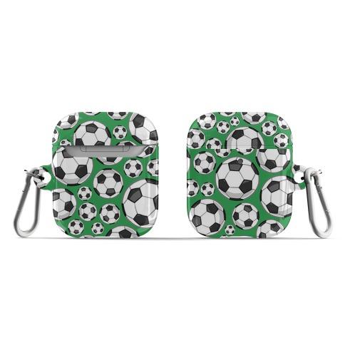 Soccer Balls Pattern AirPod Case