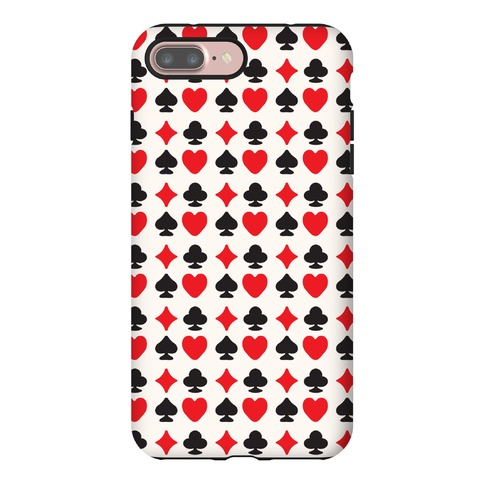 Card Deck Symbols Pattern Phone Case