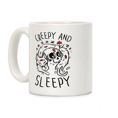 Creepy And Sleepy Coffee Mug