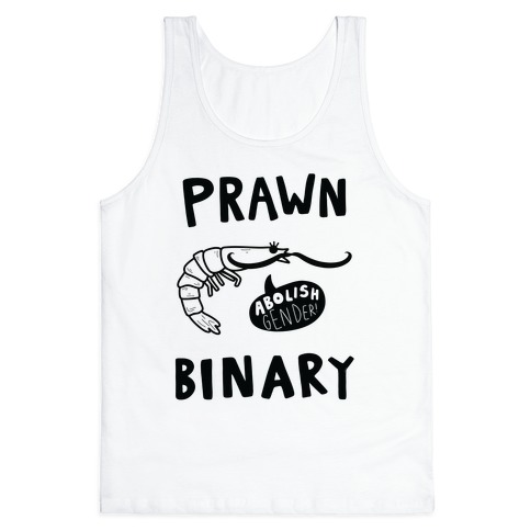 Prawn-Binary Tank Top