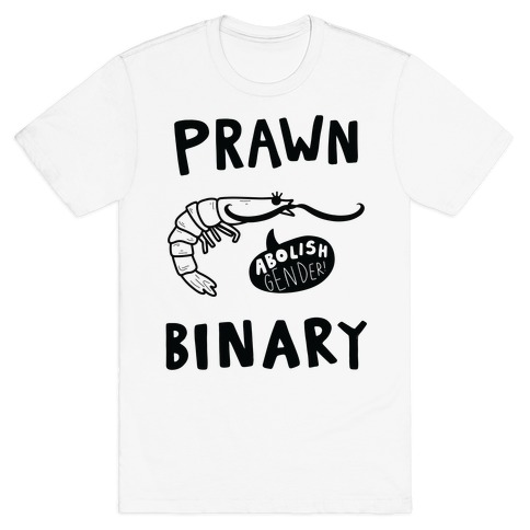 Prawn-Binary T-Shirt