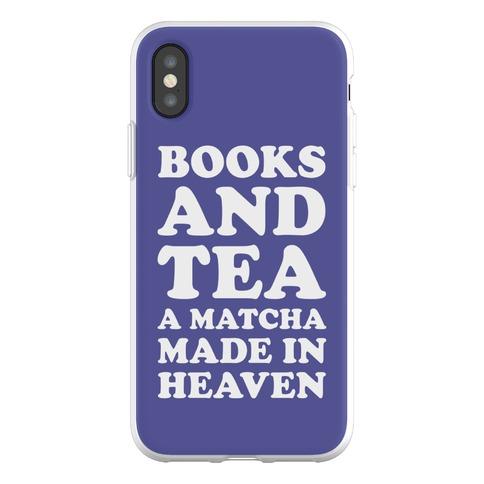 Books A Tea A Matcha Made In Heaven Phone Flexi-Case