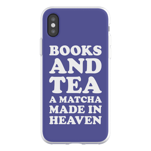 Books A Tea A Matcha Made In Heaven Phone Flexi-Case