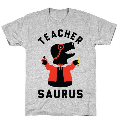 Teacher Saurus cardigan T-Shirt