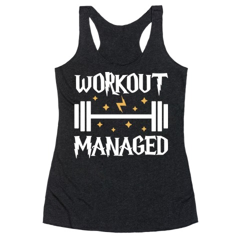 Workout Managed Racerback Tank Top