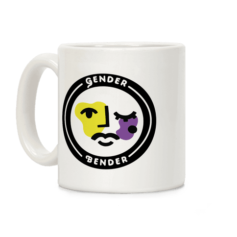 Gender Bender Patch Coffee Mug