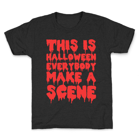 This Is Halloween Everybody Make A Scene Kids T-Shirt