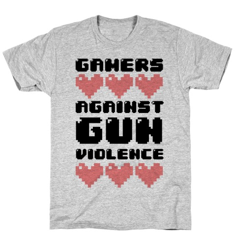 Gamers Against Gun Violence T-Shirt