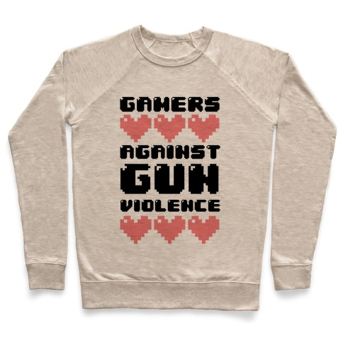 Gamers Against Gun Violence Pullover