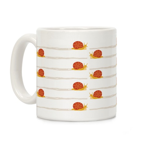 snail trail pattern Coffee Mug