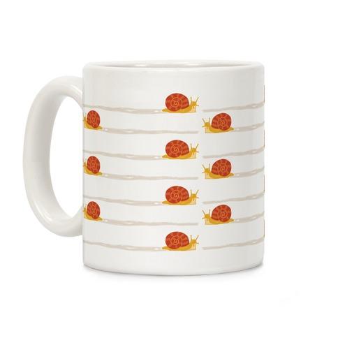 snail trail pattern Coffee Mug
