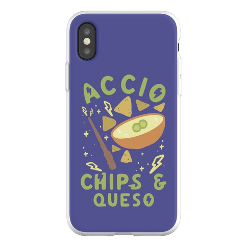 Accio Chips and Queso Phone Flexi-Case
