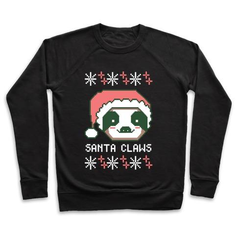 Santa Claws - Sloth Pullover